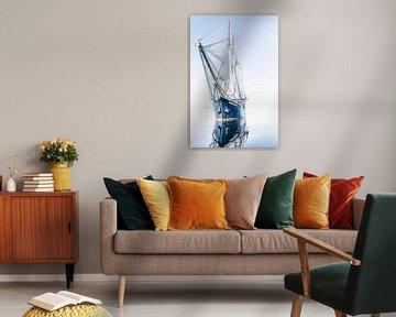 Zeilschip Rembrandt van Rijn op Spitsbergen | Fotografie, reisfotografie, reizen, varen van Milene van Arendonk