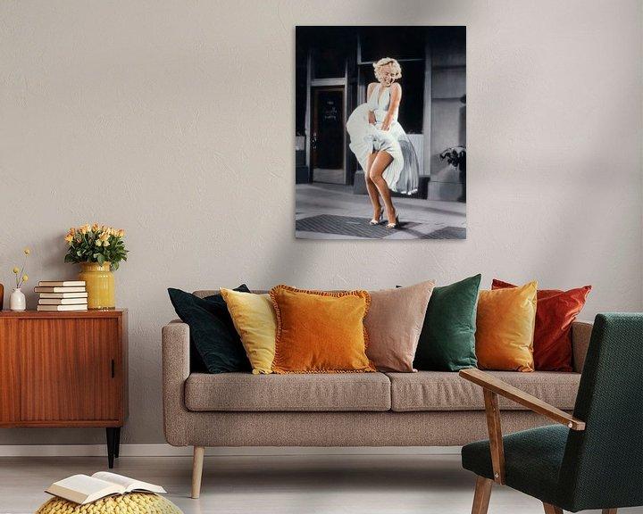 Beispiel: Marilyn Monroe im Siebenjahresjucken von Bridgeman Images