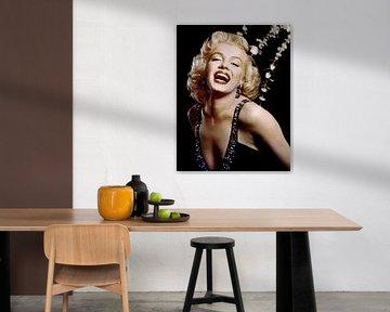 Marilyn Monroe in de film How To Marry a Millionaiore van Bridgeman Images