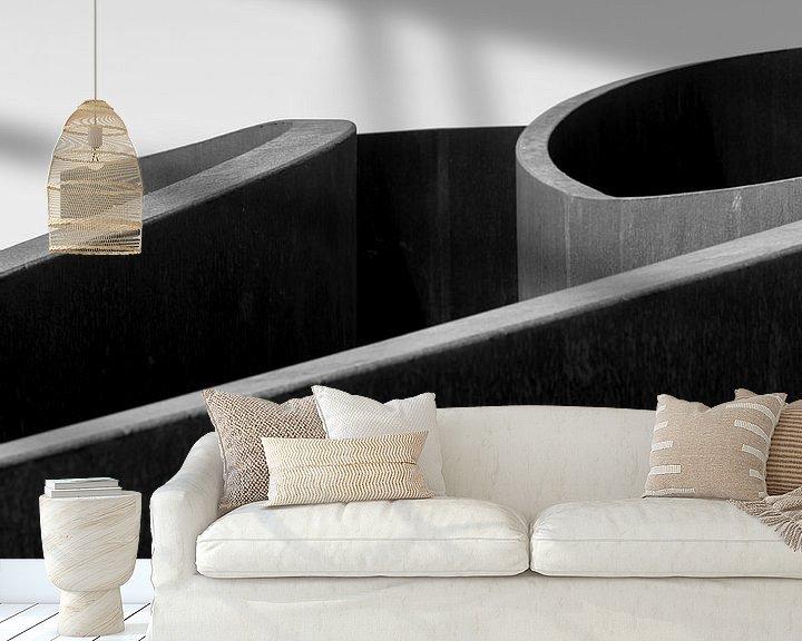 Sfeerimpressie behang: Go with the flow van Edwin Muller
