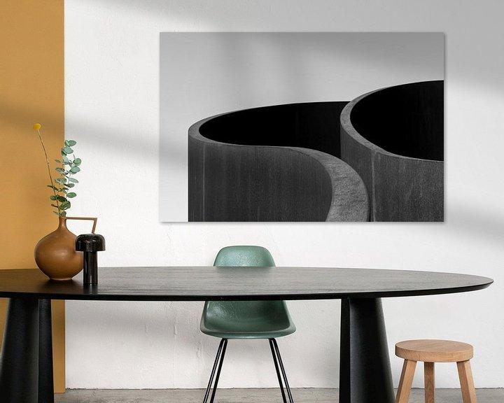 Sfeerimpressie: Waves of steel van Edwin Muller