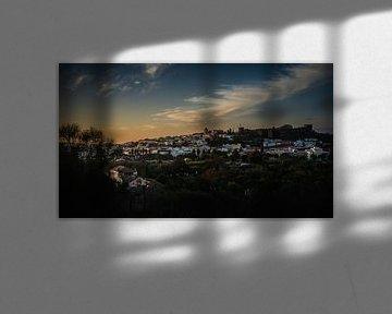 Silves bei Sonnenuntergang von Urban Photo Lab