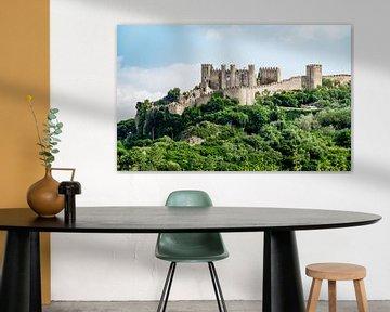 Burg Obidos auf dem Hügel von Urban Photo Lab