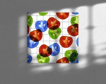 RGB-Tomatensalat von > VrijFormaat <