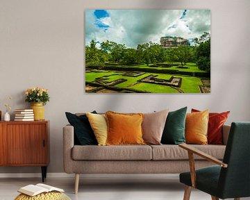 Sigiriya Rock Sri Lanka van Thijs van Laarhoven