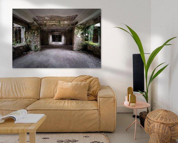 Beispiel: Korridor im verlassenen Kurort. von Roman Robroek