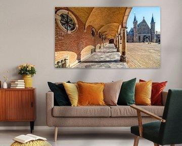 Binnenhof Den Haag van Michel Groen