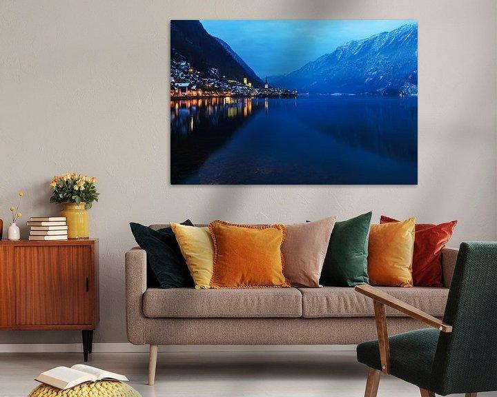 Impression: Hallstatt et le lac Hallstatt sur Frank Herrmann