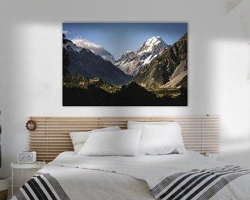 Mount Cook, Nouvelle-Zélande sur Floris Heuer
