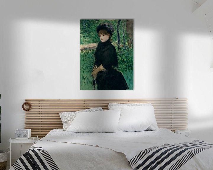 Beispiel: Promenade, Édouard Manet