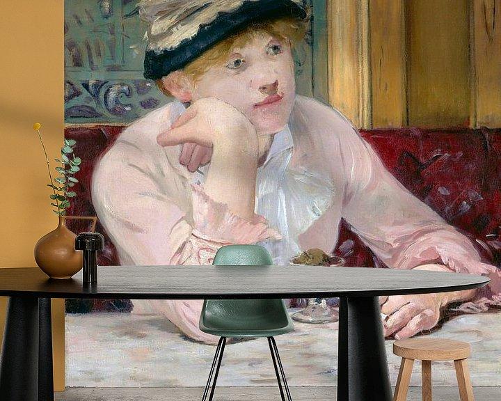 Beispiel fototapete: Pflaumenschnaps, Édouard Manet
