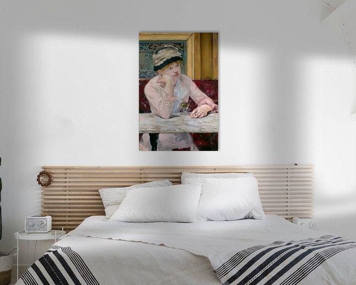 Beispiel: Pflaumenschnaps, Édouard Manet
