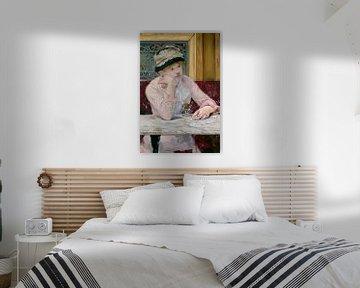 Pflaumenschnaps, Édouard Manet