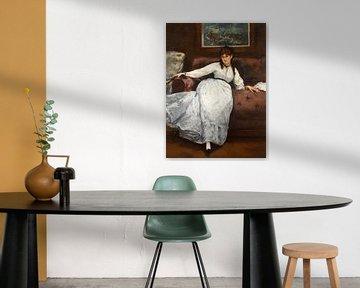 Reposse, Édouard Manet
