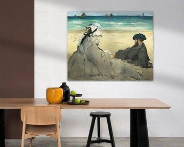On the Beach, Édouard Manet