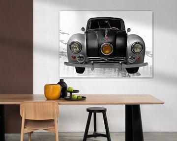 Tatra 87 en noir &amp ; argent sur aRi F. Huber