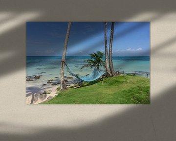 Hangmat op een paradijselijk eiland van Reis Genie