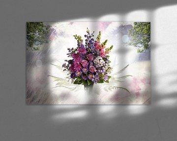 Blumen in ihrer schönsten Form (Stilleben) von Bert Hooijer