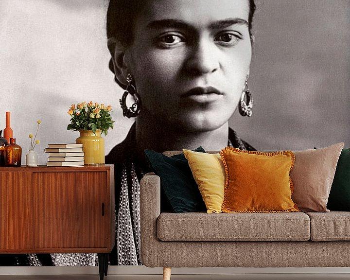 Impression: Portrait de Frida Kahlo, 1932 sur Bridgeman Images