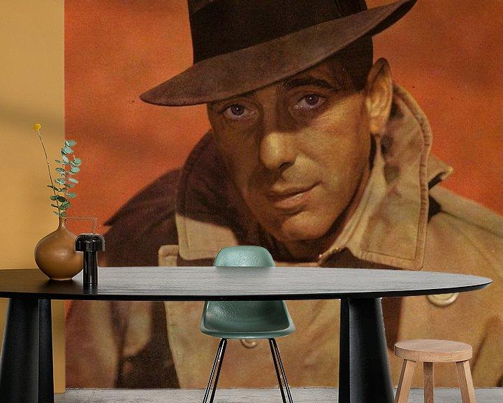 Beispiel fototapete: Humphrey Bogart Portrait von Bridgeman Images