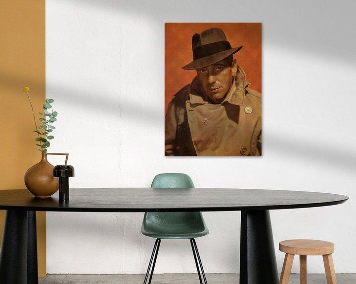Beispiel: Humphrey Bogart Portrait von Bridgeman Images
