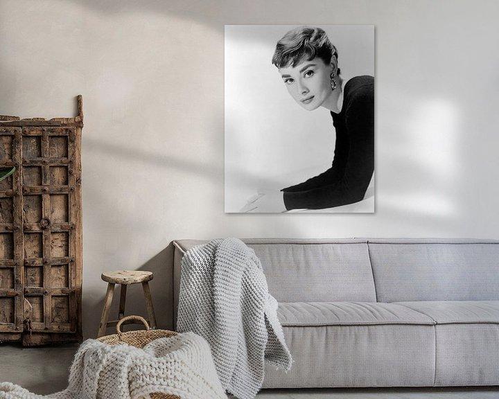 Beispiel: Audrey Hepburn, Sabrina, 1954 von Bridgeman Images