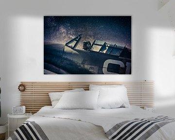 Melkweg jager van Robert Broeke