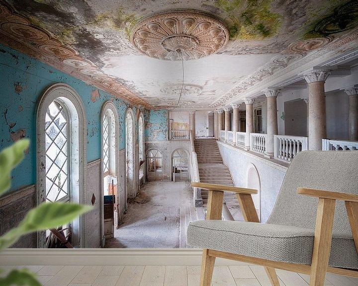 Beispiel fototapete: Riesige verlassene Treppe. von Roman Robroek