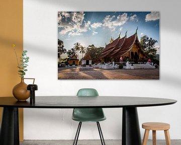 de Wat Xiengthong tempel van Frank Verburg