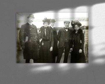 Portret op schip van Liesbeth Govers voor omdewest.com