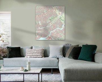 Kaart vanCapelle aan den IJssel