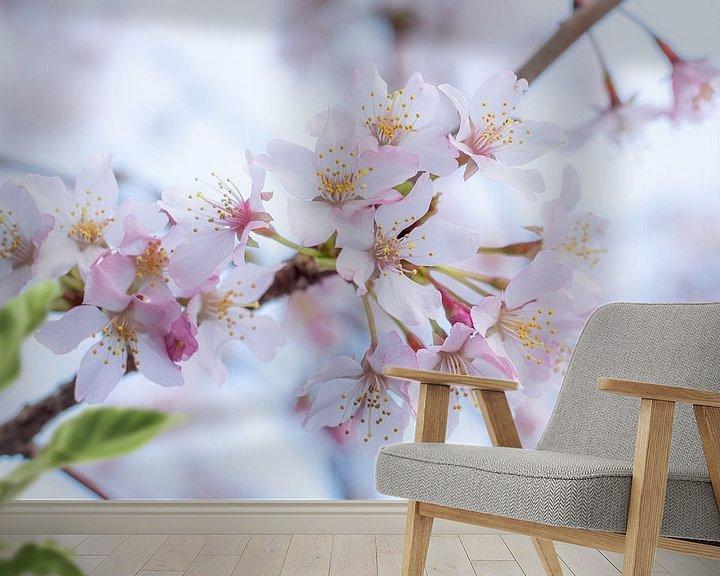 Beispiel fototapete: Blühen im eigenen Garten von Clazien Boot