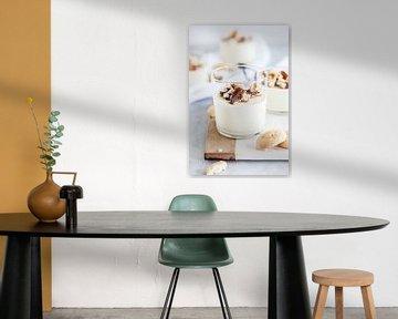 Citroen-mascarponemousse met amaretti crunch van Nina van der Kleij