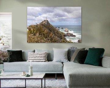 Nugget Point - Nieuw Zeeland van Jurgen Buijsse
