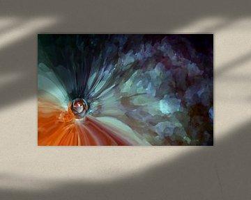 Aufprall einer Rose von Peter Norden
