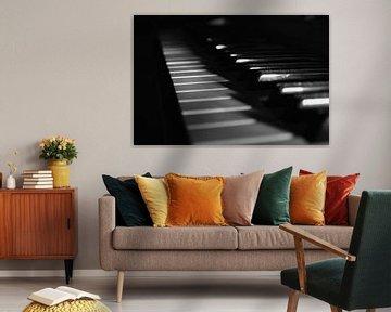 Klaviertasten von Daphne Haaijer