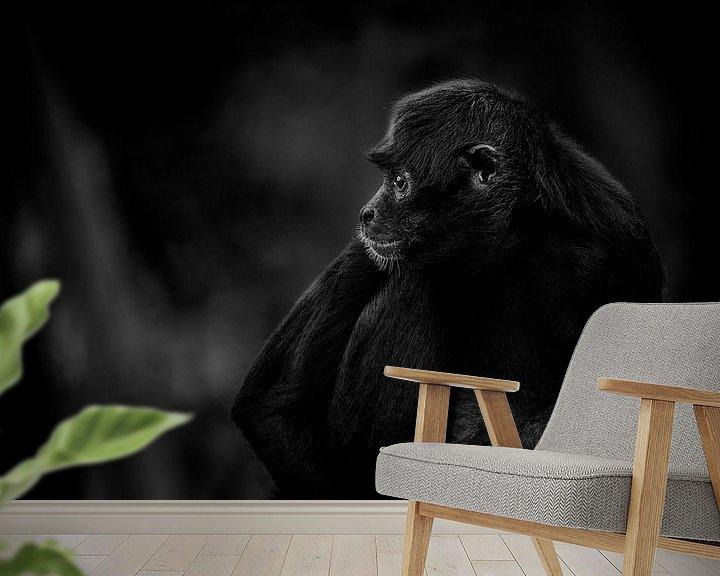 Sfeerimpressie behang: Wegdenkend van Ruud Peters