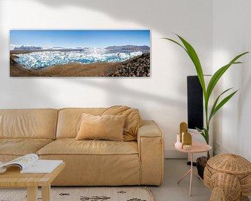 Panorama de Jökulsarlon en Islande sur Jan Schuler