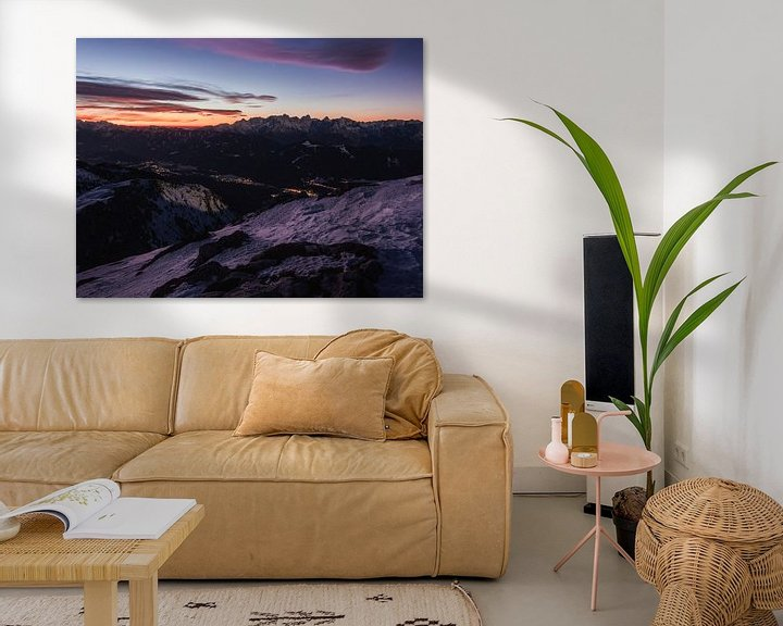Beispiel: Sonnenaufgang am Dobratsch von Thomas Weber