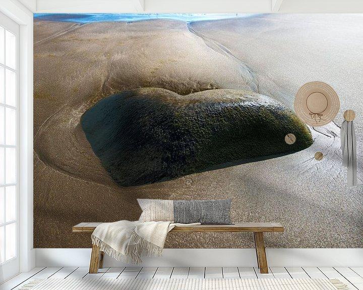 Sfeerimpressie behang: 2213 With love from the Coast van Adrien Hendrickx