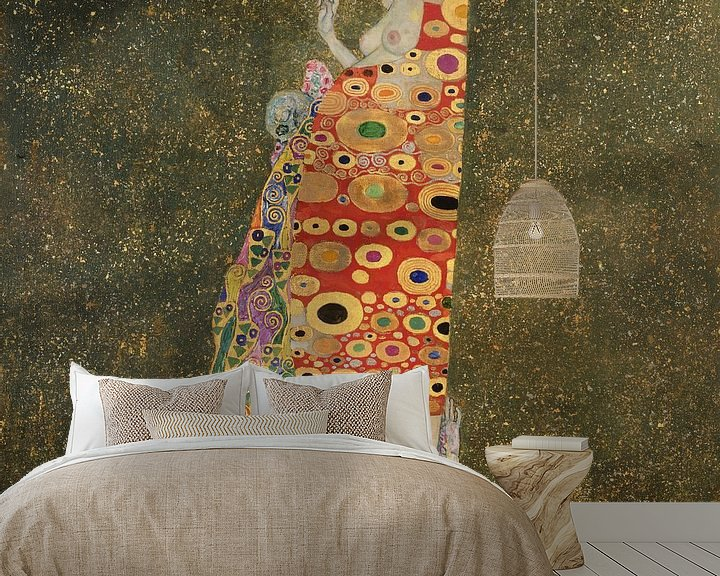 Beispiel fototapete: Hoffnung, Gustav Klimt
