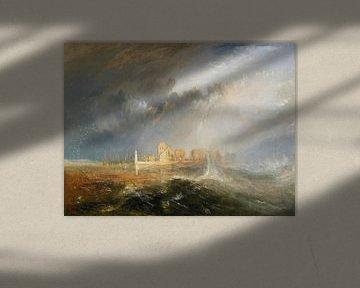 Quillebeuf, Mouth of the Seine, William Turner