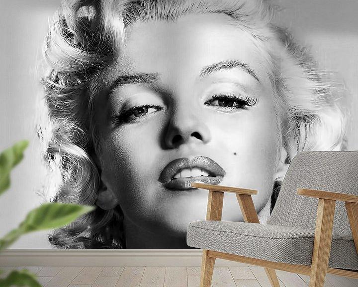 Beispiel fototapete: Marylin Monroe, Porträt von Gert Hilbink