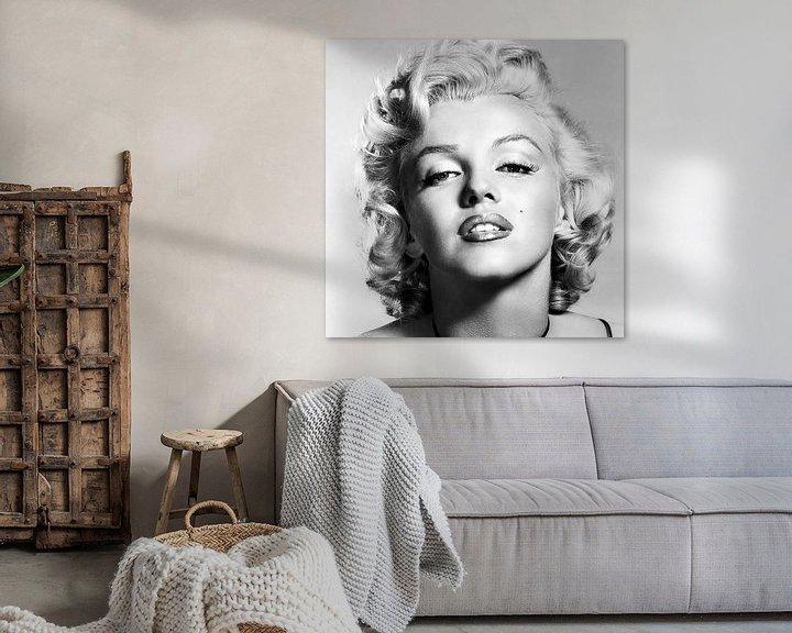 Beispiel: Marylin Monroe, Porträt von Gert Hilbink