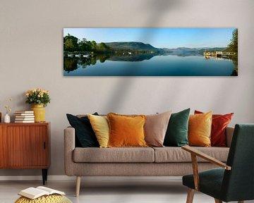 Panorama Lake District van Frank Peters