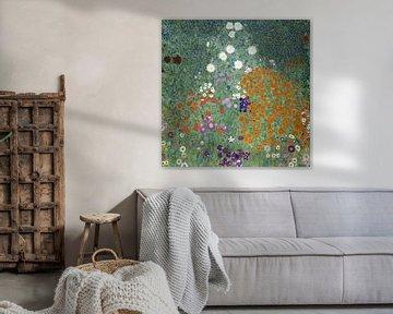 Blumengarten, Gustav Klimt