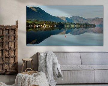 Panorama Lake District, Ullswater van Frank Peters