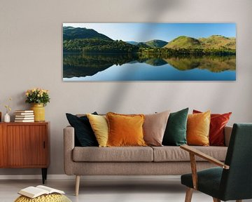 Panorama Lake District, Engeland van Frank Peters