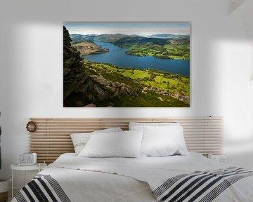 Uitzicht Lake District van Frank Peters