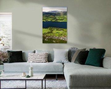 Landschap Lake District, Ullswater van Frank Peters